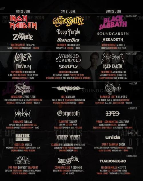 Avenged Sevenfold à Paris le 20 Novembre 2013, un nouveau clip et les dates/groupes du Hellfest 2014 !