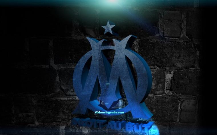 logo om olympique de marseille
