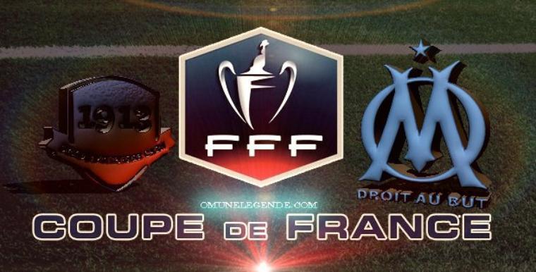 CAEN - OM COUPE DE FRANCE
