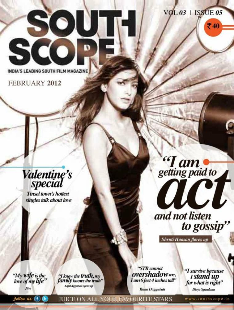 Shruthi Hassan For South Scope