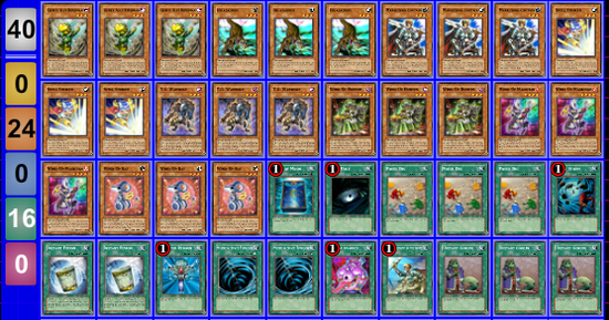 Deck Wind-Up Ocg pour faire la loop (Naruoh)