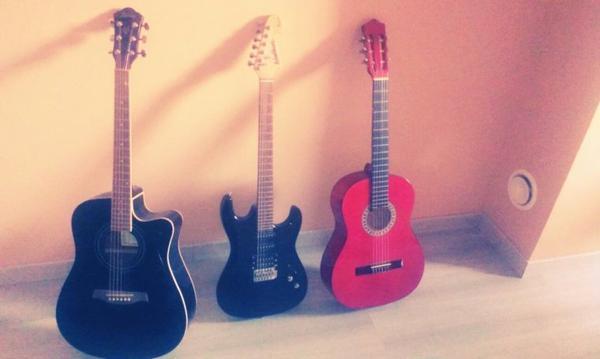 Mes trois guitares