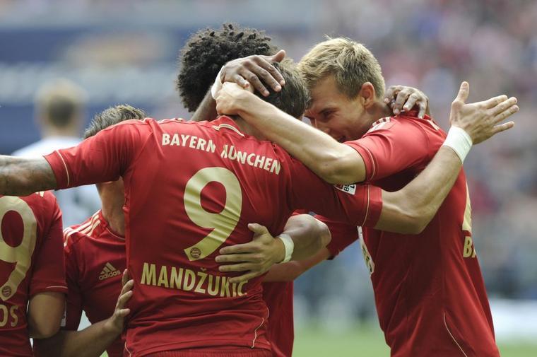 Bayern 3 -1 Mayence (15.09.2012)