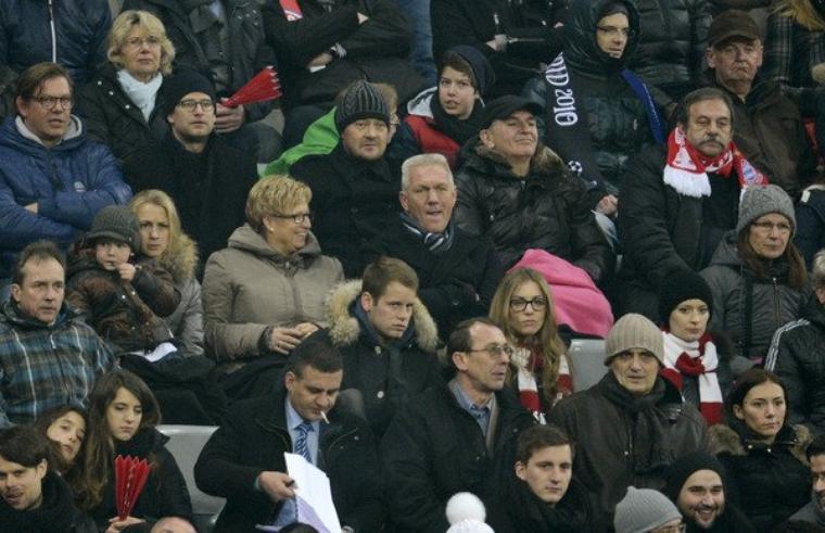 [VIE PRIVEE] Helga Badstuber pendant Bayern - Juventus (2.04.2013)