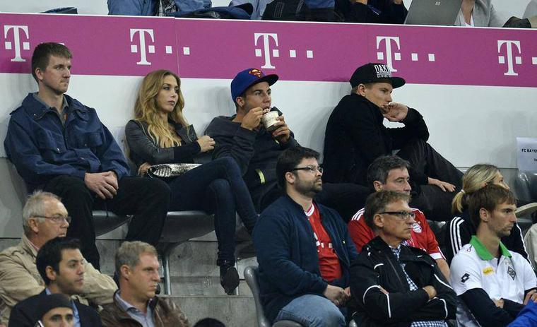 Holger pendant Bayern 3 -1 Monchengladbach (08.08.2013)