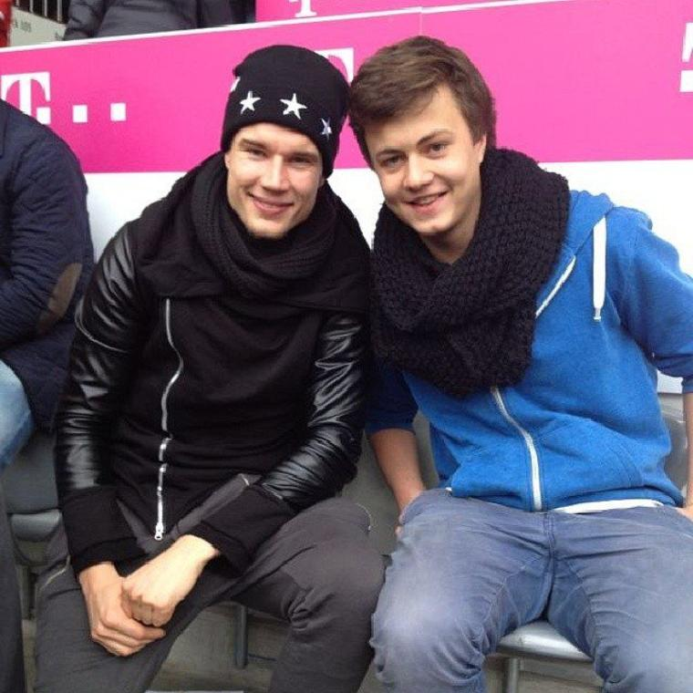 Holger pendant le match (15.02.2014)