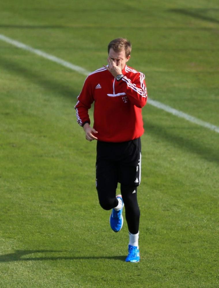 Holger à l'entrainement (22.02.2014)