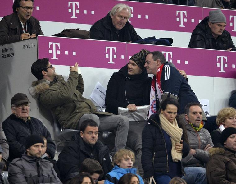 Holger pendant le match (1.03.2014)
