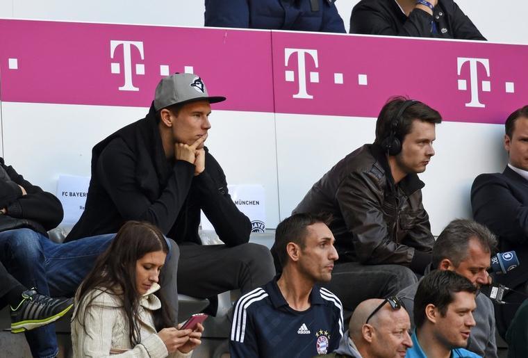 Holger pendant le match (29.03.2014)