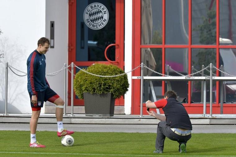Holger à l'entrainement (31.03.2014)