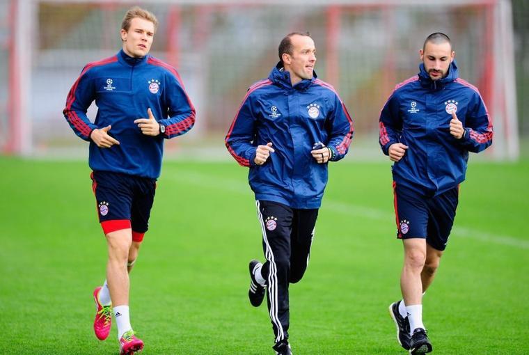 Holger à l'entrainement (8.04.2014)
