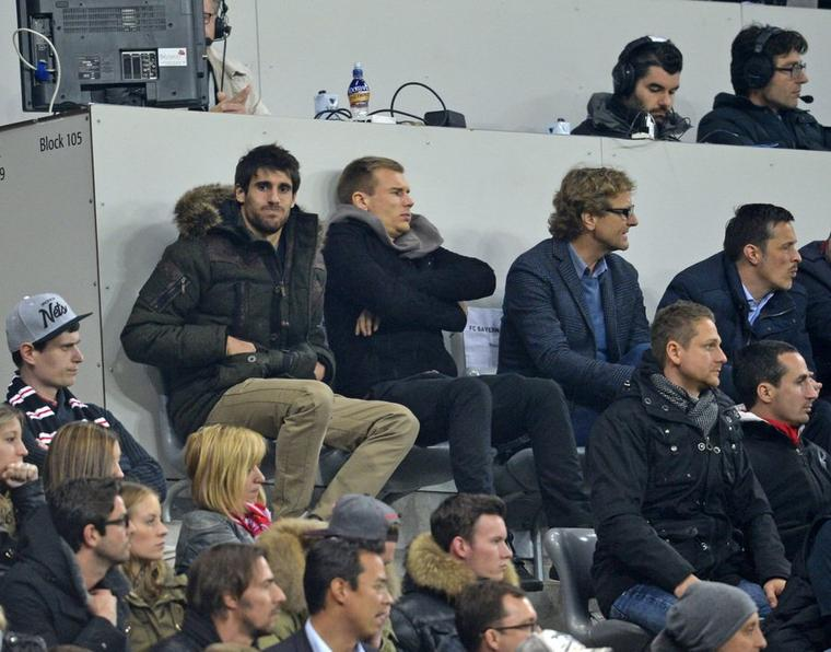 Holger pendant Bayern-Manchester (9.04.2014)