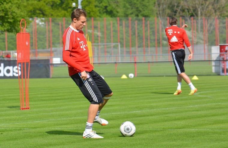 Holger à l'entrainement (1.05.2014)