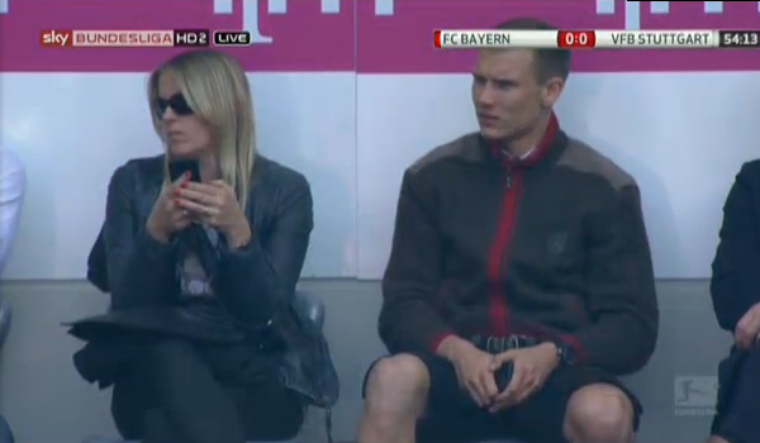 Holger pendant Bayern - Stuttgart (10.05.2014)