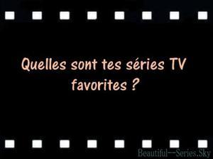 ●• Séries TV- Sondage n°1