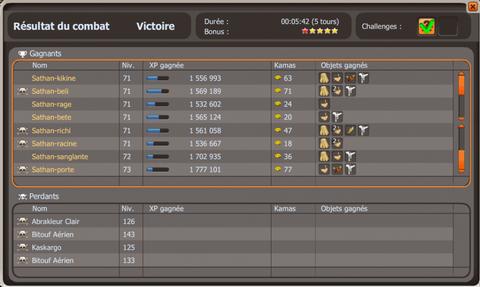 Team lvl 70 ! screens XP..