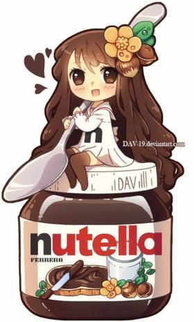 Nutella :  Mon O.S ♥