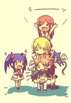Mon jeu Fairy Tail ♥