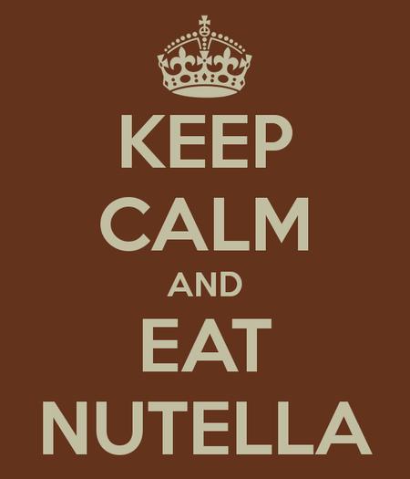 Si toi aussi tu aimes le nutella ♥
