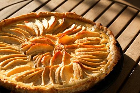 Tarte aux pommes façon pain d'épices