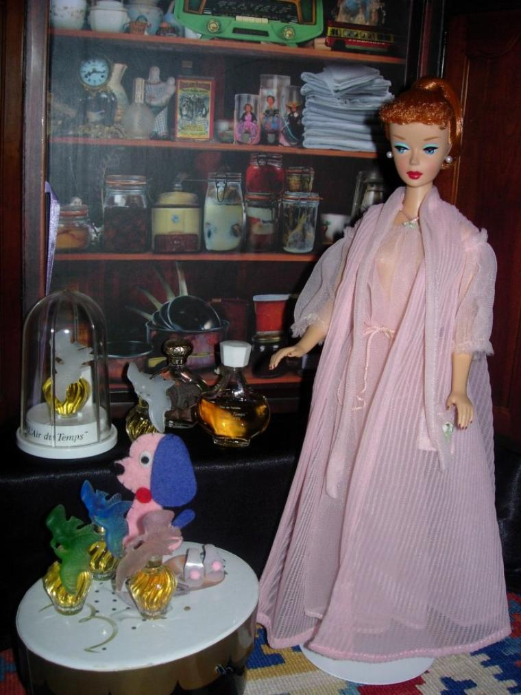"VINTAGE BARBIE ""NIGHTY ""NEGLIGEE SET"" - 1959"