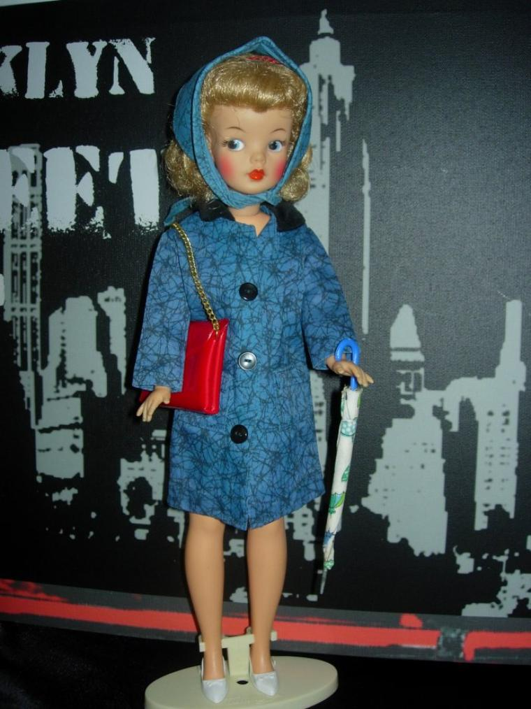 "TAMMY DOLL - IDEAL TOYS - ""PUDDLE JUMPER"" !"