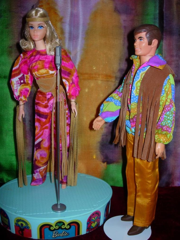 1971 : VINTAGE LIVING BARBIE & KEN !