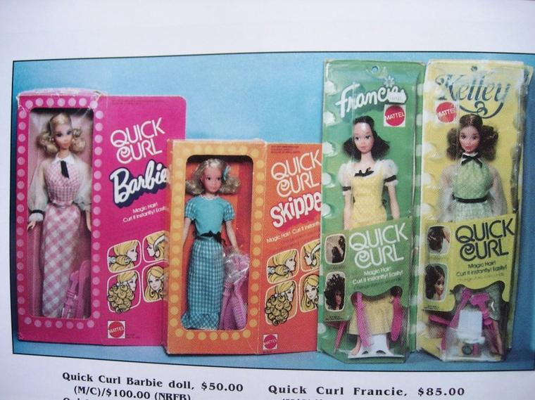 BARBIE QUICK CURL de 1973