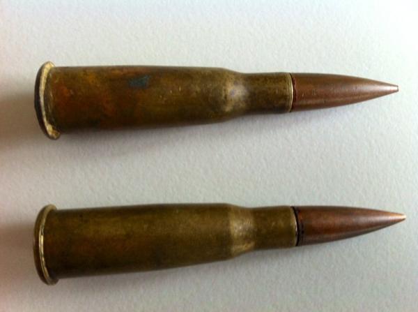 Cartouches de fusil Lebel M1886