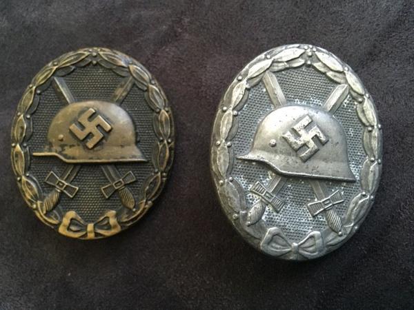 Insigne des blessées militaire allemand ww2