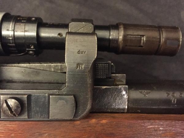 Lunette de tir allemande ZF40/41 ww2