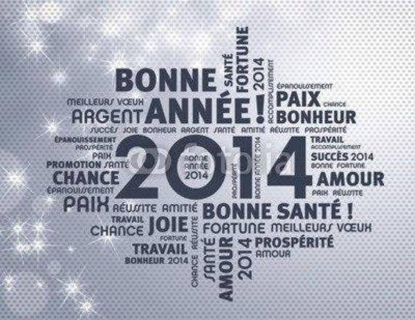 BONNE ANNÉE 2014 !!!!!!