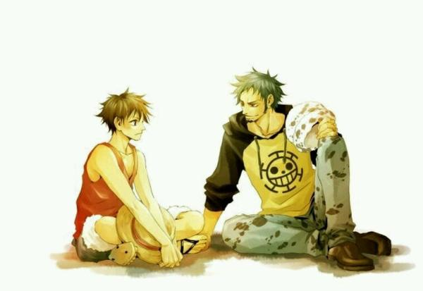 Law ... Luffy ... deux amours!