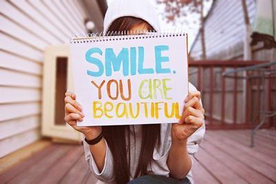 Et puis peut etre que d'etre beau c'est juste d'être heureux.