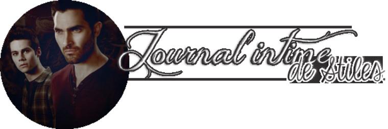 Journal intime de Stiles