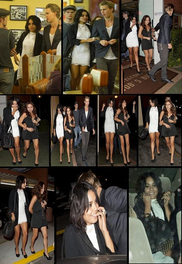 Saturday, September 17th ; Vanessa  ses amis &... un ami PROCHE au Bob's Big Boy Restaurant à Burbank.