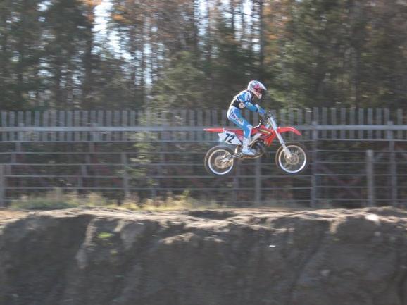 Moi pis le motocross
