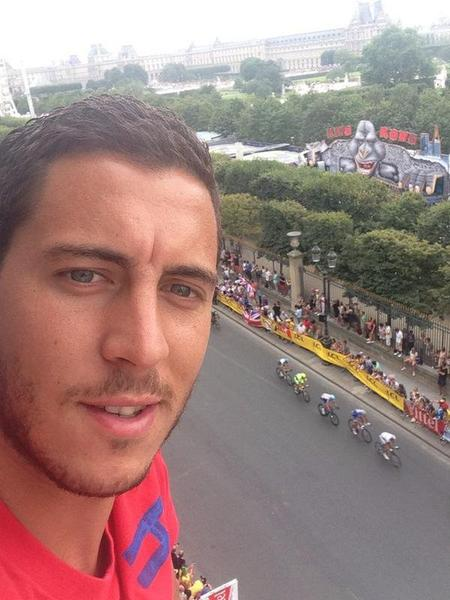Eden  Hazard à Paris !