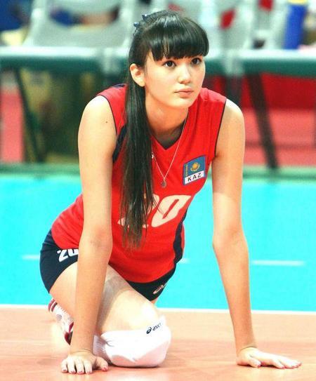 Trop belle pour jouer au volley !