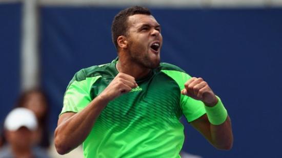 Tsonga bat Djokovic, le numéro 1 mondial !