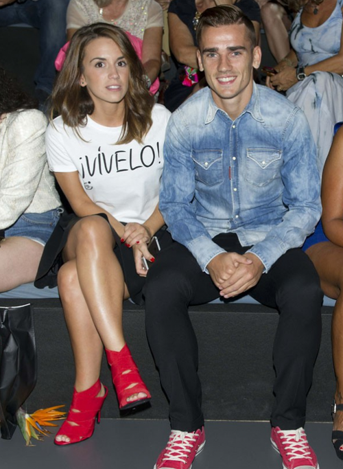 Griezmann en mode FASHION WEEK !