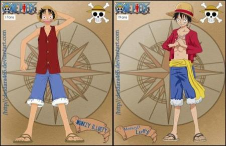 Monkey D. Luffy- One piece