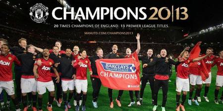 Manchester United champion 2013