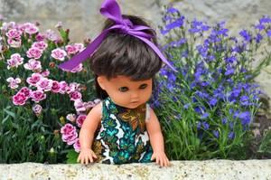 pour débuter la semaine rien de tel qu'une petite poupette Gégé  la jolie Chouki ou Chouky de 1966 à 1967