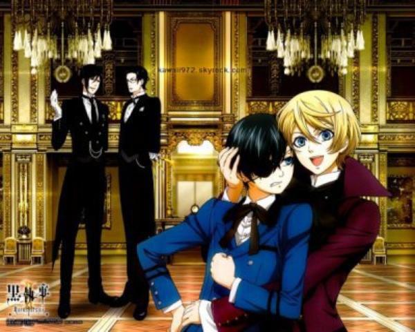 Black Butler (ANIME) /Kuroshitsuji  (黒執事)