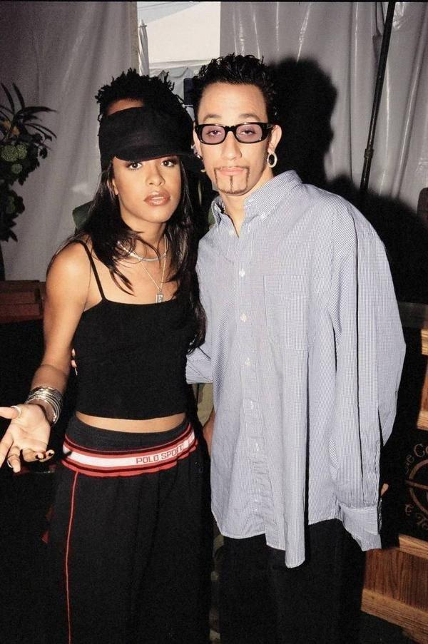 Aaliyah et AJ McLean, en 1997