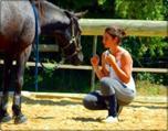 . Apprenez à écouter ce que votre cheval murmure à votre oreille...