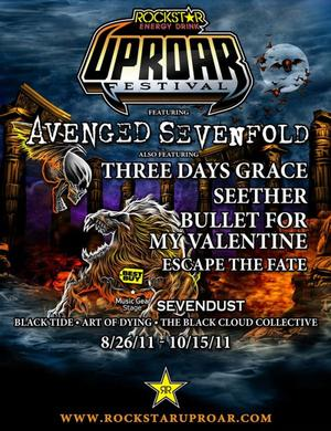 Avenged Sevenfold a Montreal le 13 septembre !