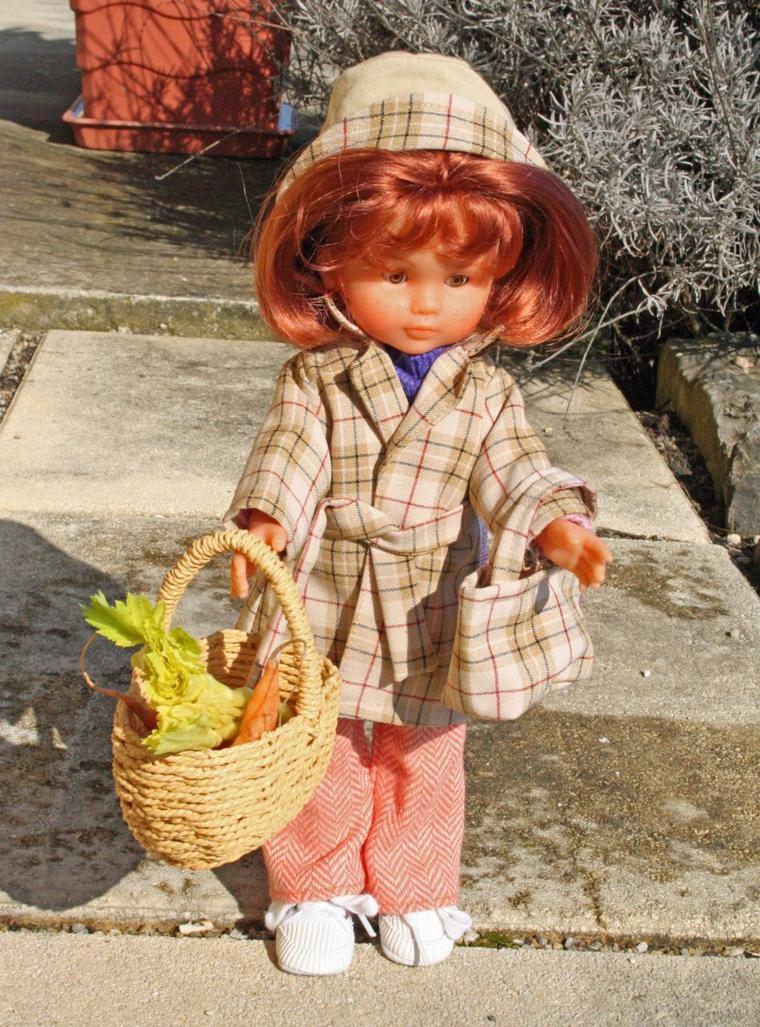 Clara va au marché