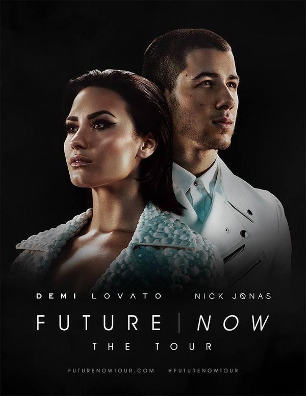 Demi & Nick futur now tour été 2016